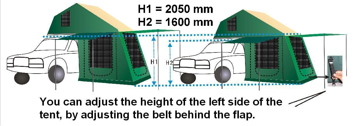 You can change the height of