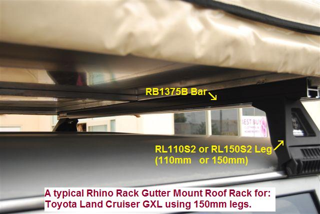 A Rhino-rack mounting option